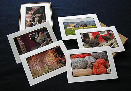 Notecards -- Farm Scenes
